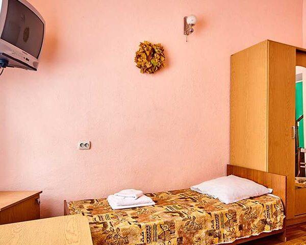 Односпальная кровать в санаторий Горького