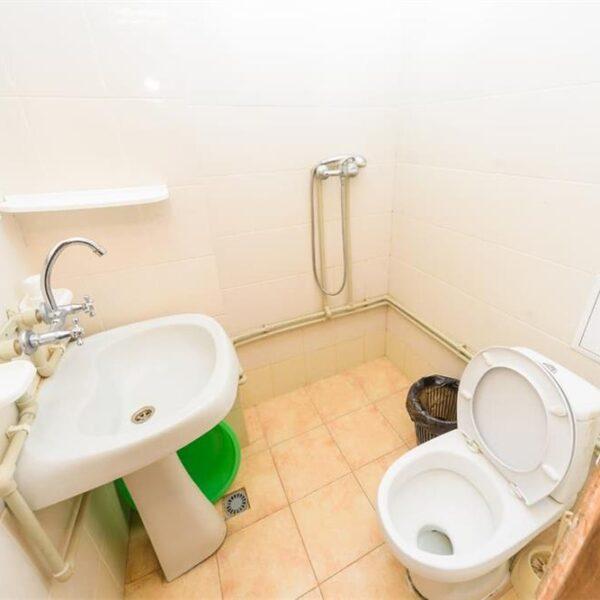 Ванная комната в номере санатория Куяльник
