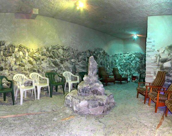 "Соляна кімната в санаторії ""Медобори"""