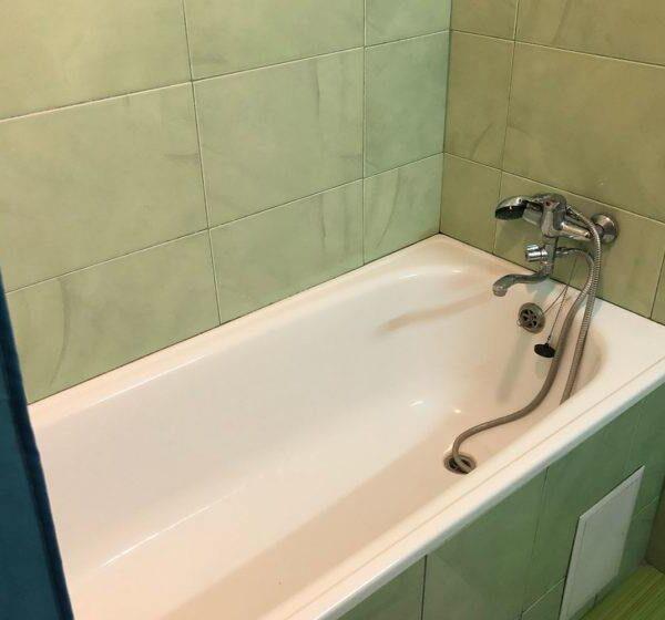 """Ванная в номере санатория """"Медоборы"""""""