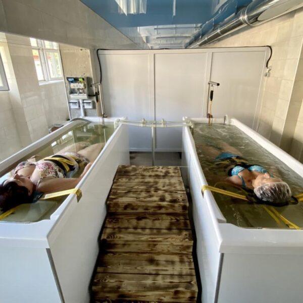 Водные процедуры Санаторий Золотая Нива
