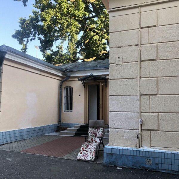 Фасад санаторій Чкалова