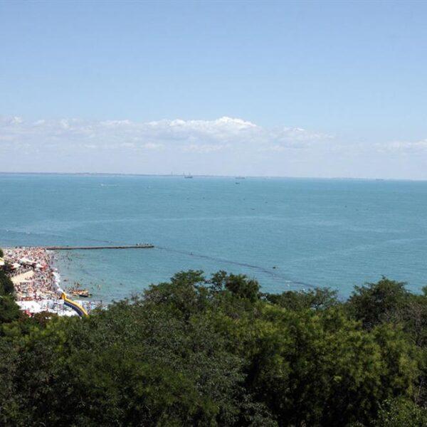 Море в санатории Одесский