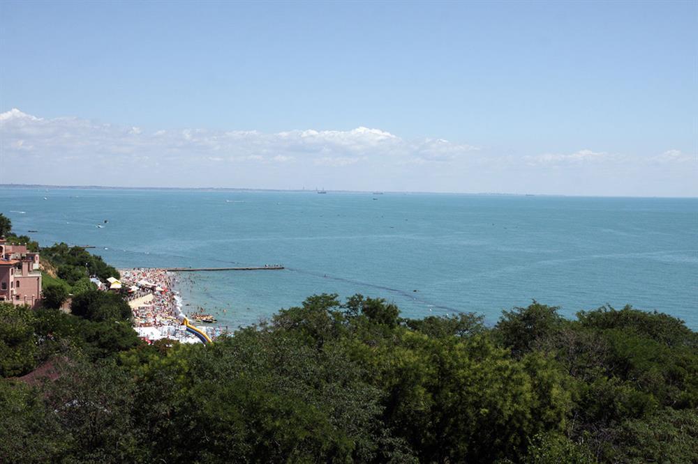 Вид на море санаторій Одеський фото