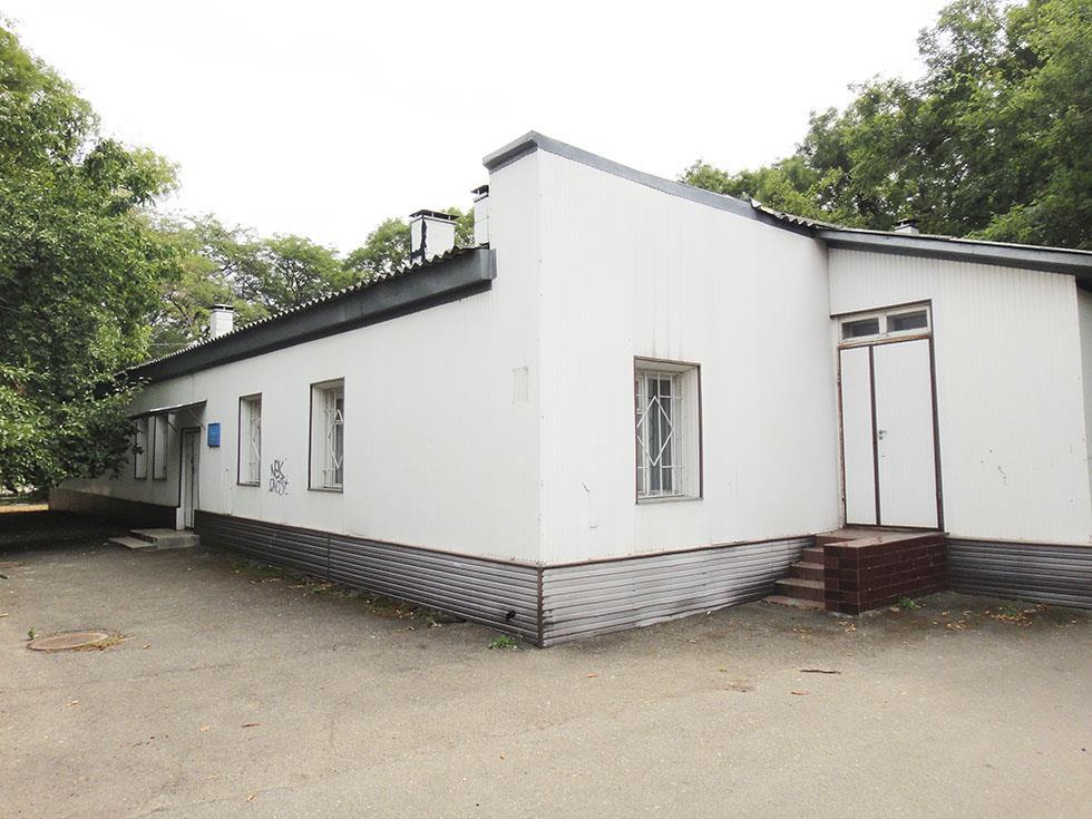 Еще один фасад санаторий Одесский