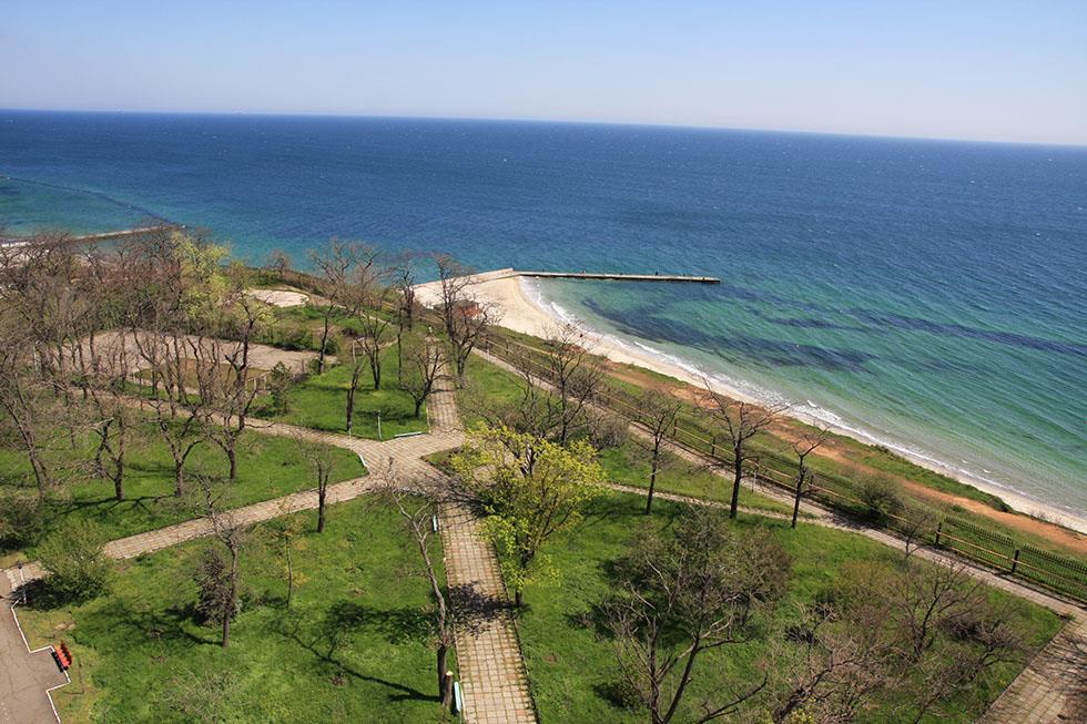 Чорне море санаторій Одеський фото