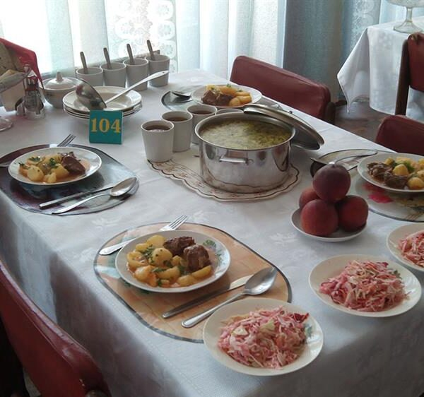 Їдальня в санаторії Одеський Одеса