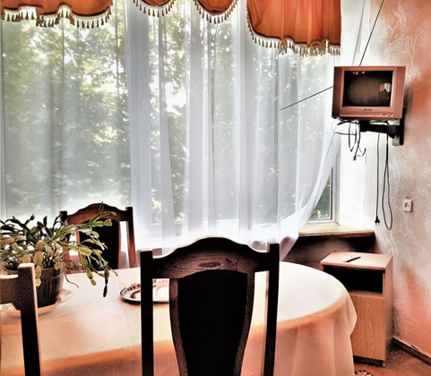 Место для обеда в санатории Чкалова