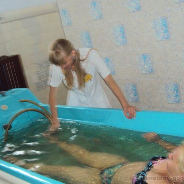 Водные процедуры в санатории Гопри отзывы