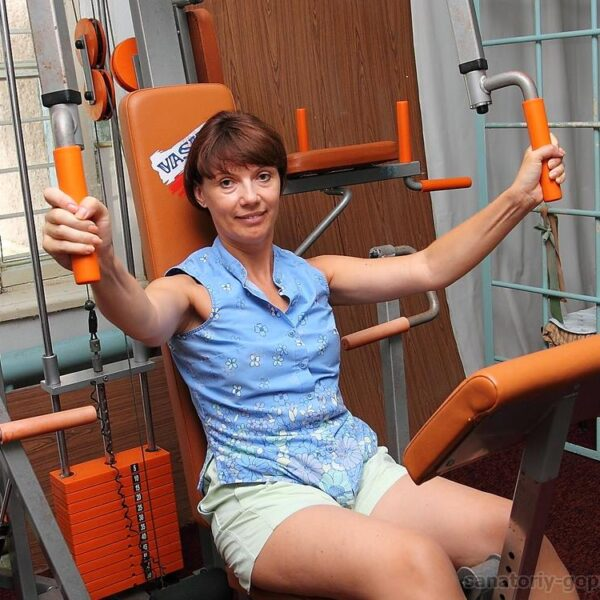 Фізичні вправи санаторій Гопри фото