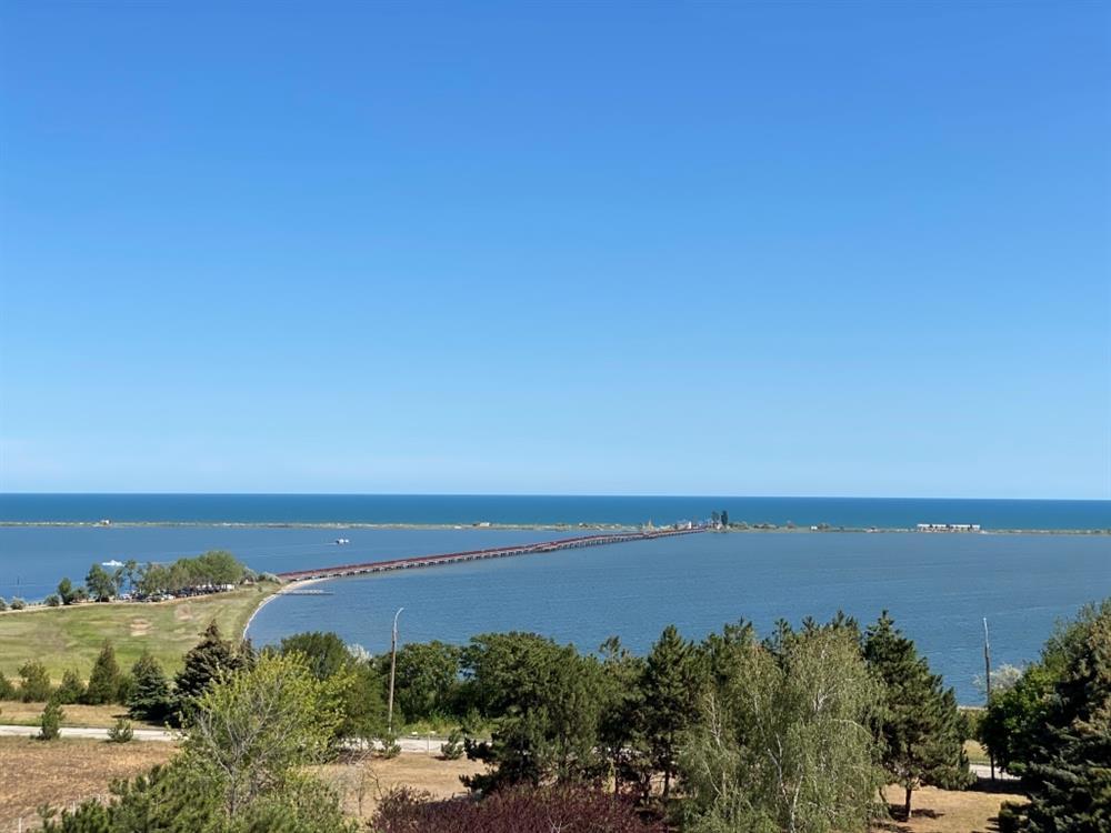 Вид на море санаторій Сергія Лазо фото
