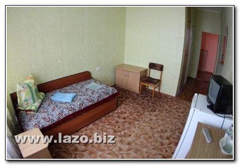 Компактний номер санаторія Сергія Лазо
