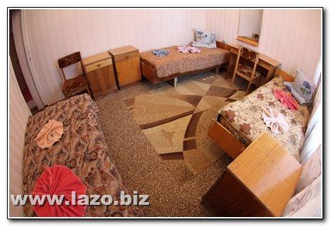 Номер для троих санатория Сергея Лазо