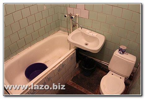 Ванная комната санатория Сергея Лазо