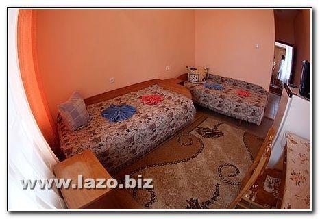 Две односпальные кровати санаторий Сергея Лазо