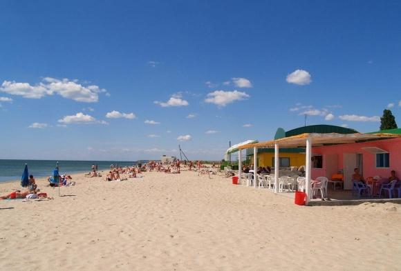 Пляж санаторий Сергея Лазо фото