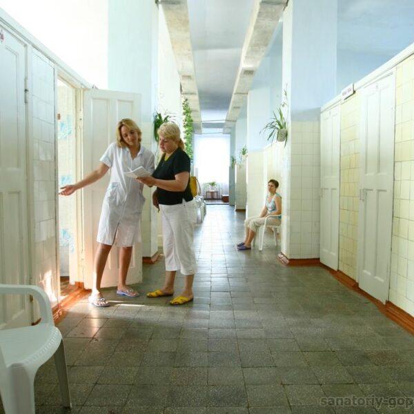 Медицинский корпус в санатории Гопри