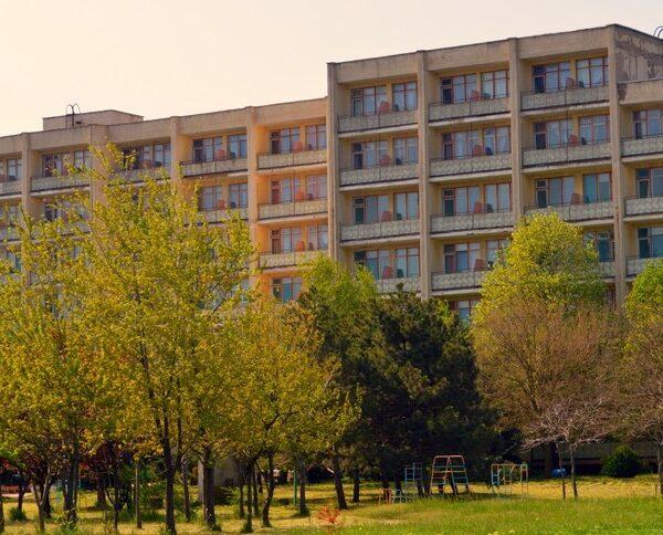 Великий корпус санаторій Сергія Лазо Сергіївка