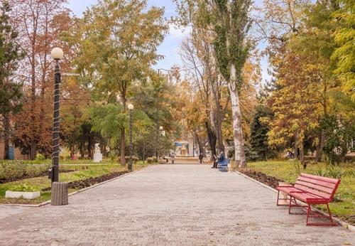 Осень в санатории Лермонтовский
