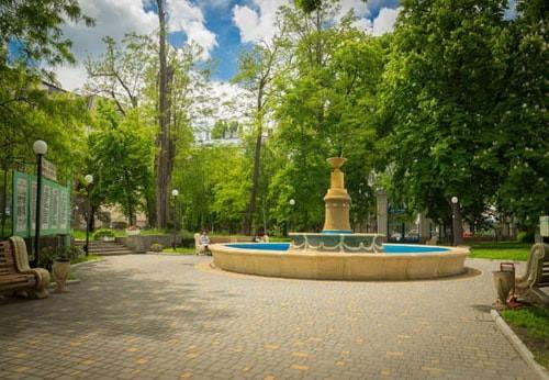 Большая территория санаторий Лермонтовский фото