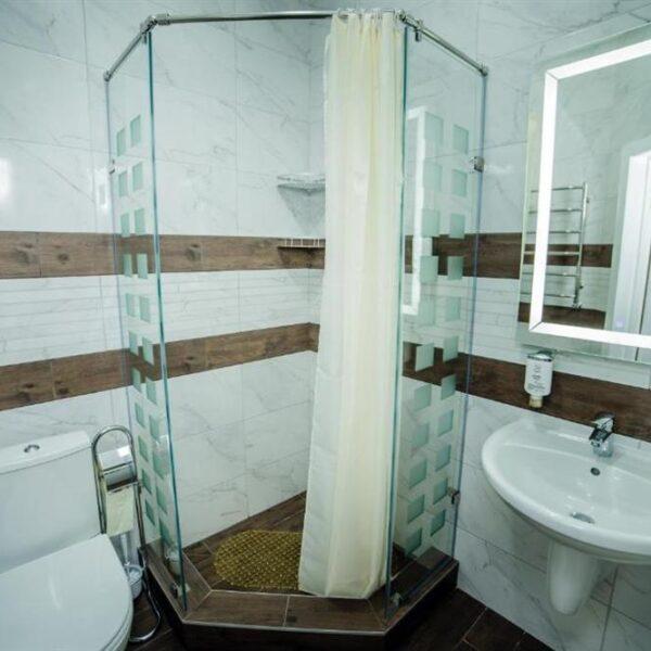 Ванна кімната в номері напівлюкс Апарт-готель «Кайзервальд» фото